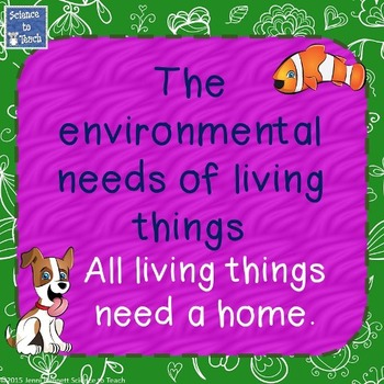 Environmental Needs of Living Things