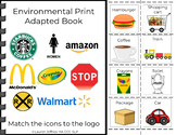 Environmental Print Adapted Book 1