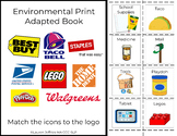 Environmental Print Adapted Book 2