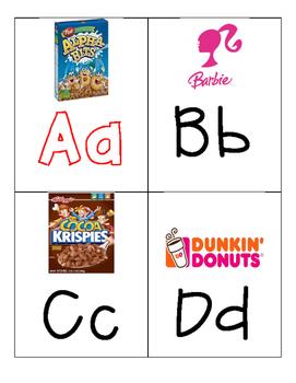 Environmental Print Alphabet