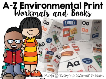 Environmental Print Alphabet Activities