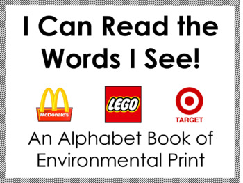 Environmental Print Alphabet Book