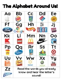 Environmental Print Alphabet Chart