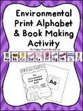 Environmental Print Alphabet with Student Activity Booklet