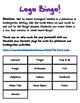 Environmental Print Bingo-Stores