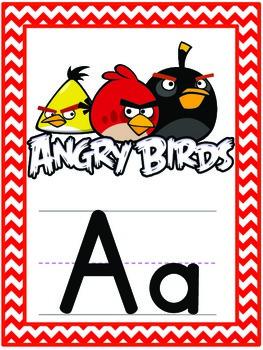 Environmental Print Classroom Alphabet