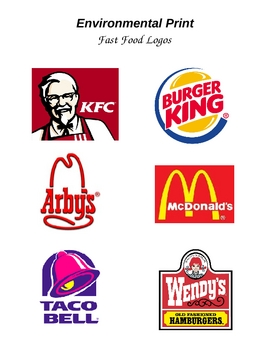 Environmental Print- Fast Food Restaurants