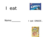 Environmental Print Reading:  I eat