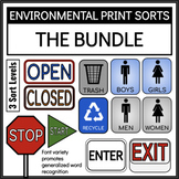 Environmental Print Sorts Bundle