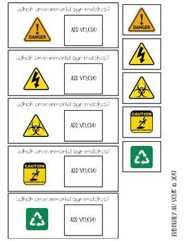 Environmental Print Task Cards