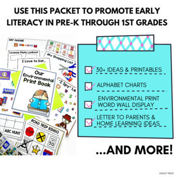 Environmental Print Word Wall for Preschool or Kindergarten