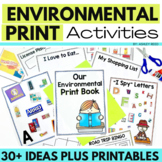 Environmental Print Tool Kit and Printables for Preschool