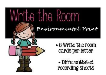 Environmental Print Write the Room