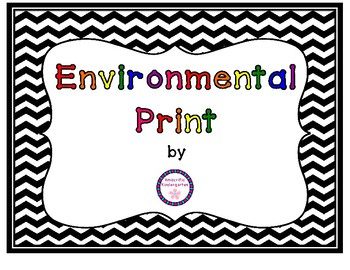 Environmental Print for the Classroom