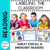 Labeling the Classroom English Language Learners, Emergent Readers Home & School