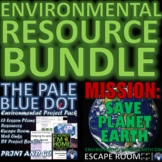 Environmental Project Pack, Lesson Plans, Escape Room, Res