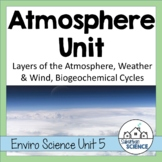 Environmental Science: Atmosphere Bundle- Lessons, Webques