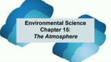Environmental Science Ch 15: The Atmosphere Guided Notes & PowerPoint