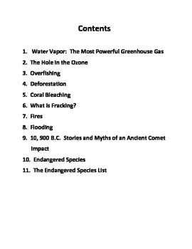 Environmental Science Common Core Workbook