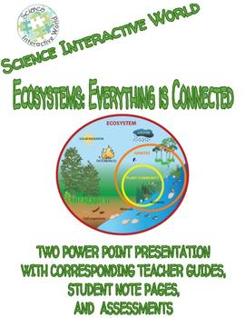 Environmental Science Comprehensive Bundle- Ecosystems:Everything is Connected