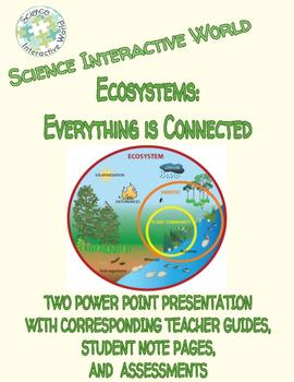 Environmental Science Comprehensive Bundle - Ecosystems:Everything is Connected