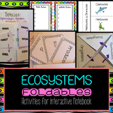 Ecology Foldables for Interactive Notebook