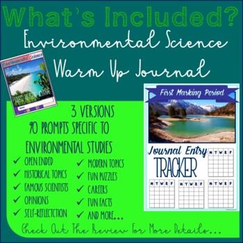Environmental Science First Fifteen Journal