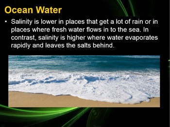 Environmental Science Hydrosphere & Biosphere CH 3 Section 3