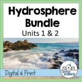 Environmental Science: Hydrosphere Bundle- Lessons, Webquests, & Lab Activities