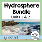 Hydrosphere Unit- Lessons, Worksheets, & Lab Activities