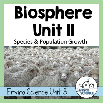 Environmental Science Lesson & Lab- Population Growth