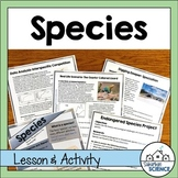 Lesson & Project - Endangered and Threatened Species - Speciation