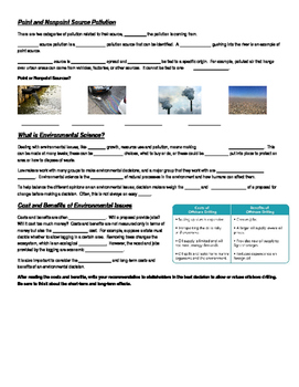 Environmental Science Introduction Notes