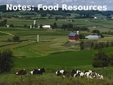 Environmental Science Lecture Notes: Food Resources