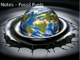 Environmental Science Lecture Notes: Fossil Fuel Resources