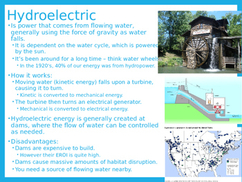 Environmental Science Lecture Notes: Renewable Energy