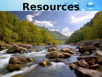Environmental Science Lecture Notes: Water Resources