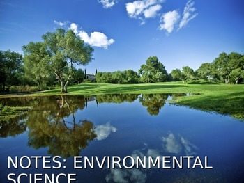 Environmental Science Lecture Notes: What Is Environmental