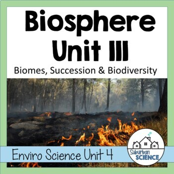 Environmental Science Lesson & Activity: World Biomes & Food Webs