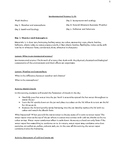 Environmental Science Lesson Plan