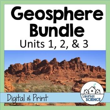 Environmental Science: Lithosphere or Geosphere- Lessons & Labs