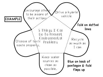 Environment Pollution and Waste Interactive Notebook