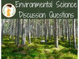 Environmental Science Discussion Questions