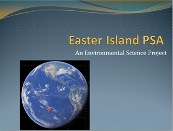 Environmental Science Project Easter Island Public Service Announcement