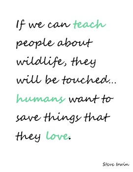Environmental Science Quote Posters w/o borders