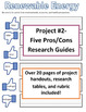 Environmental Science & Ecology Research Project Bundle