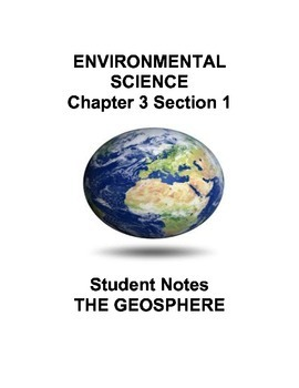 Environmental Science: The Biosphere