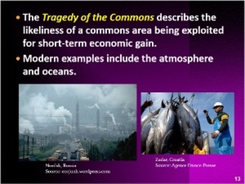 Environmental Science The Environment & Society CH 1 Section 2