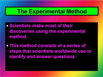 Environmental Science The Scientific Method CH 2 Section 1