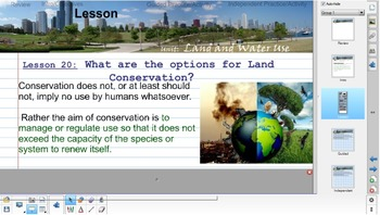 Environmental Science Unit: LAND & WATER USE